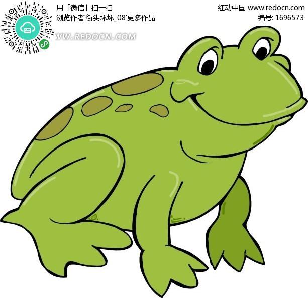 小青蛙的简笔画图片 青蛙简笔画图片大全集小青蛙