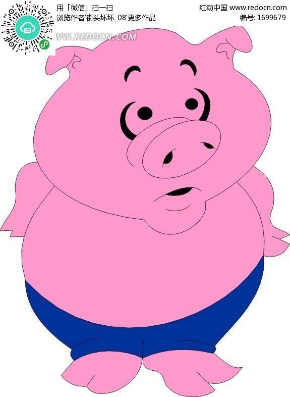 卡通简笔画小猪图片,卡通小猪简笔画,可爱的小猪卡通画,卡通小猪简笔