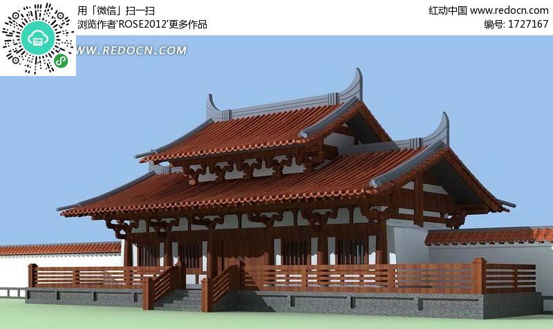 中国古建筑效果图_园林古建筑效果图欣赏大全