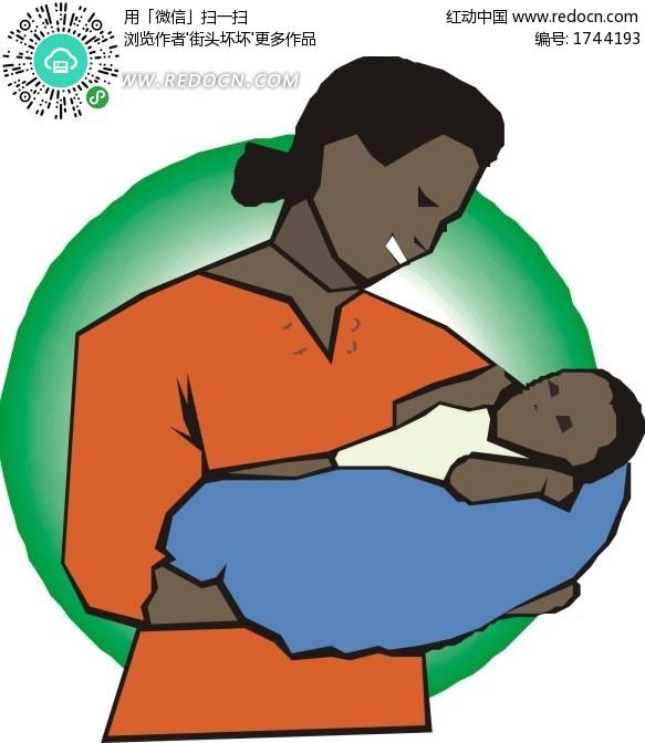 妈妈抱着小宝宝图片中国_
